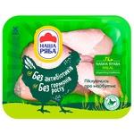 Гомілка курчат-бройлерів Наша ряба halal (упаковка PET ~0,6кг)