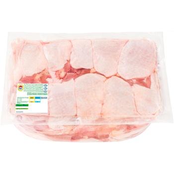 М'ясо стегна Наша Ряба курчати-бройлера охолоджене (від 3,6кг вакуумна упаковка)