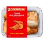 Курячі крильця Наша Ряба Апетитна в соєво-медовому маринаді охолодженні ~600г