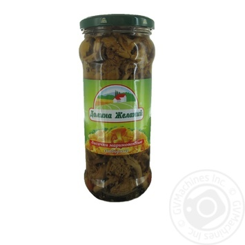 Mushrooms chanterelles Dolina jelaniy pickled 580ml