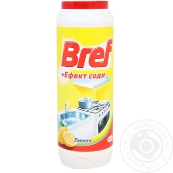 Bref Powder for cleaning + The effect of soda Lemon 500g - buy, prices for Novus - image 1