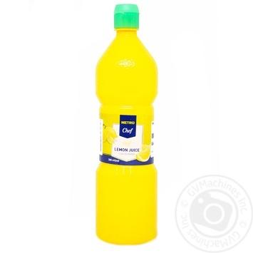 Сок Metro Chef лимона концентрированный 380мл - купить, цены на Метро - фото 1