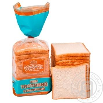 Хлеб Румянец Тостовый нарезка 300г