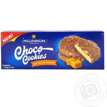 Печиво Millennium Карамель 138г - купити, ціни на Фуршет - фото 1