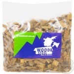 Щепки Woods&Steel для копчения Яблуня ДМЗ