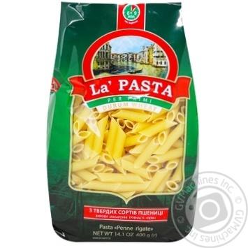 Макароны перья Ла паста 400г - купить, цены на Ашан - фото 8