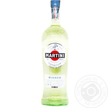 Вермут Мартіні Бьянко 15% 1л - купити, ціни на Novus - фото 1