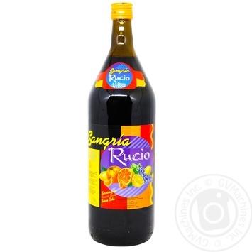 Напій винний Felix Solis Rucio Sangria червоний напівсолодкий 7% 1,5л - купити, ціни на Метро - фото 1