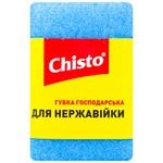Chisto Stainless Steel Scraper Sponge 1pc