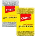 Губка Chisto скребок для тефлону 1шт