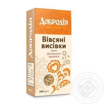Dobrodia Oat Bran 200g - buy, prices for CityMarket - photo 1