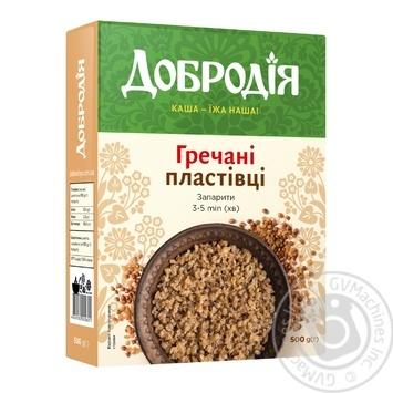 Dobrodia buckwheat flakes 500g - buy, prices for CityMarket - photo 1