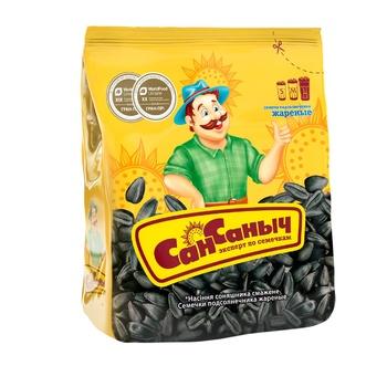 Семена подсолнуха Сан Саныч жареные 125г - купить, цены на Таврия В - фото 1