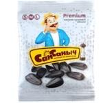 Семечки подсолнечника Сан Саныч Premium жареные соленые 80г