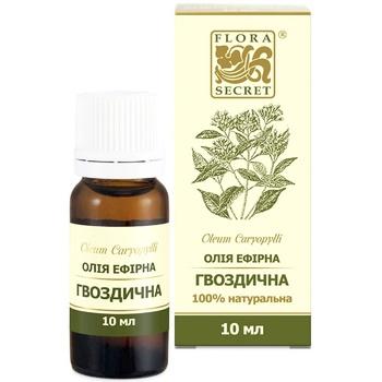 Масло эфирное Flora Secret гвоздичное 10мл - купить, цены на Novus - фото 1