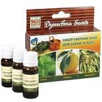 Набір ефірних олій Flora Secret Душевна баня для сауни 3х10мл
