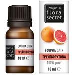 Масло эфирное Flora Secret грейпфрутовое 10мл