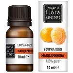 Олія ефірна Flora Secret мандаринова 10мл