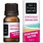 Суміш ефірних олій Flora Secret Позитивний настрій 10мл