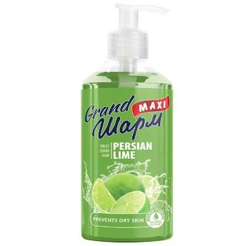 Grand Sharm Liquid Soap Maxi Persian Lime 0,5l - buy, prices for CityMarket - photo 1