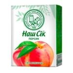 Peach juice with pulp Nash Sok 200ml