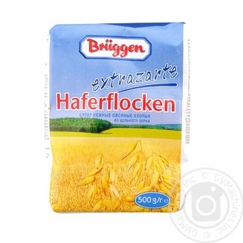 Пластівці вівсяні Брюгген з цілісного зерна 500г