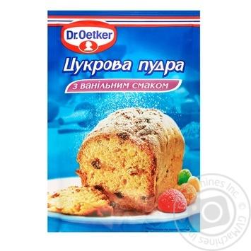 Пудра сахарная Др.Оеткер с ванильным вкусом 80г
