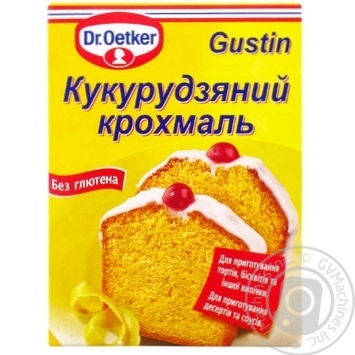 Dr.Oetker For Desserts Starch - buy, prices for MegaMarket - image 1