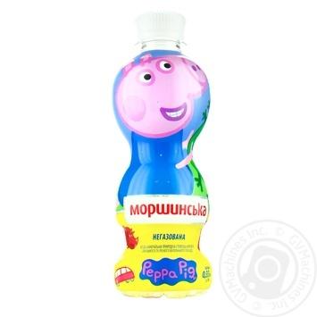 Вода Моршинская Peppa Pig негазированная 0,33л - купить, цены на Novus - фото 1