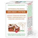 Клетчатка растительная Голден Кингз оф Юкрейн отрубей гречихи диетическая добавка 160г - купить, цены на Novus - фото 1