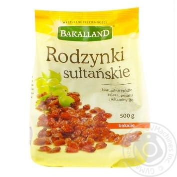 Изюм Бакалланд султанский 500г - купить, цены на Метро - фото 1