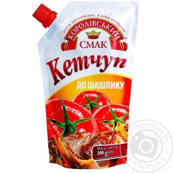 Korolivskyi Smak Do Shashliky Ketchup 300g - buy, prices for Novus - image 1