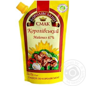 Майонез Королівський смак Королівський 67% 650г - купити, ціни на Novus - фото 3