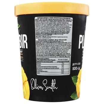 Мороженое Laska Oliver Smith Традиции Новой Зеландии пломбир с наполнителем Манго 500г - купить, цены на Фуршет - фото 3
