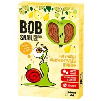 Конфеты Bob Snail натуральные яблочно-грушевые 60г