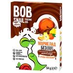 Мармелад Bob Snail груша-апельсин в молочном шоколаде без сахара 54г