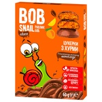 Bob Snail Candy Persimmon in Milk Chocolate without Sugar 60g