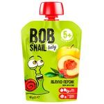 Пюре Snail Bob яблуко-персик дитяче 90г