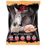 Alpha Spirit Snacks for Dogs with Turkey Taste 50g