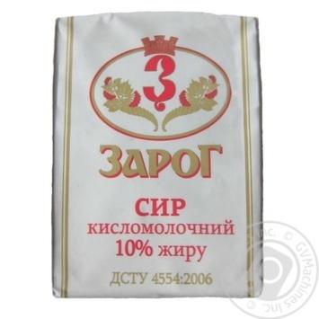 Сир Зарог кисломолочний 10% 250г Україна