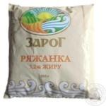 Ряженка Зарог 3.2% 500г пленка Украина