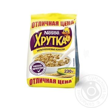 Сухой завтрак Нестле Хрутка кольца мультизлаковые 230г Россия