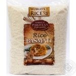 Рис World's rice басмати 5кг
