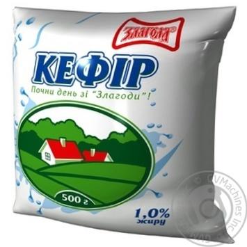ЗЛАГОДА КЕФІР 1%450Г