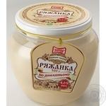 Ряженка Злагода По-домашнему 4% 500г стеклянная банка Украина