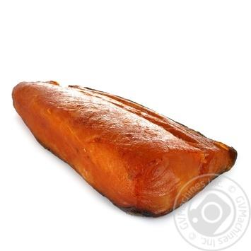 Филе Масляной рыбы холодного копчения весовое - купить, цены на Ашан - фото 2