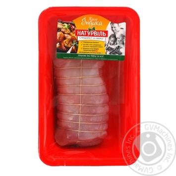 Мясной рулет Натурвиль из филе индейки охлажденный - купить, цены на Ашан - фото 2