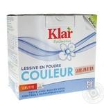 Порошок пральний для кольорових речей Klar 1,375кг