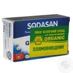 Мило Sodasan organic для видалення плям у холодній воді 100г