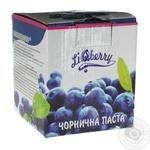 Паста LiQberry из ягод черники 550г